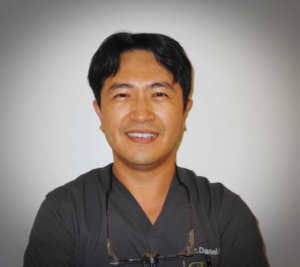 the DR.Daniel Hwang D.D.S D.A.D.I.A --- stands for diplomat of america dental implant assoc ..